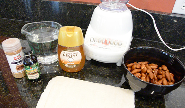 Journey to the Center of the Almond - Ingredients