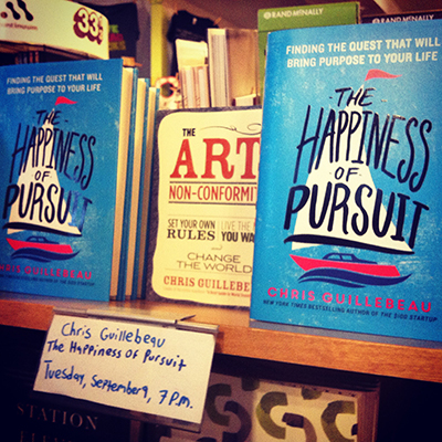 Chris Guillebeau :: The Happiness of Pursuit