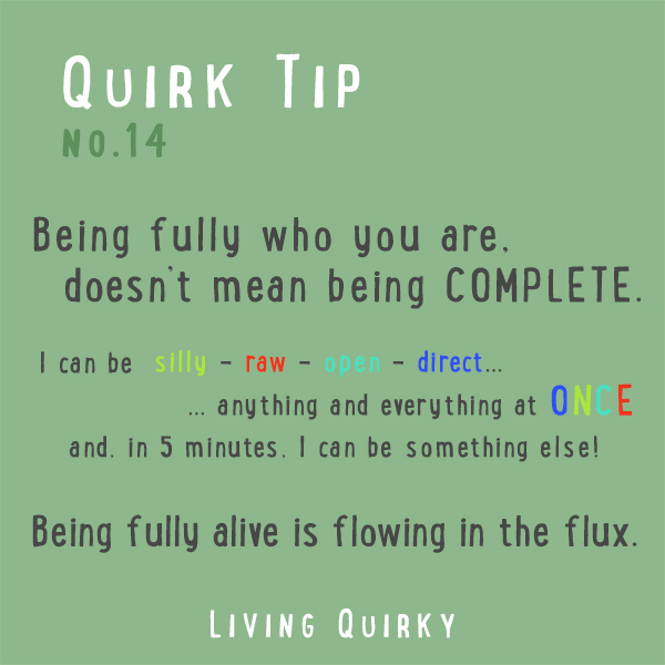 QT14 - flowing in the flux